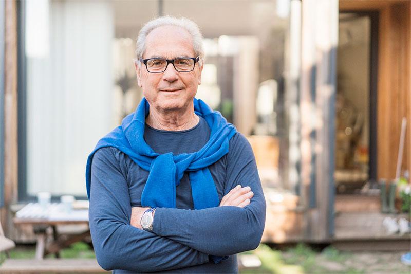 Image of retirement age man